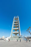 China Olympic Park TV Tower in Beijing Stock Photos