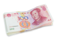 China one hundred yuan Royalty Free Stock Photo