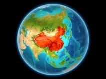 China op aarde Stock Fotografie