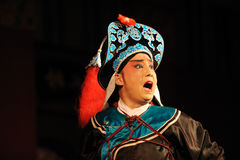 China opera actor Roared Stock Photography