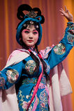 China opera beautiful woman Royalty Free Stock Photography