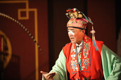 China opera clown Stock Photo