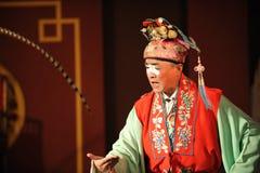 China opera clown Stock Photo