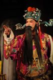 China opera man with long beard Royalty Free Stock Photography