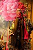 China opera man with red face Stock Photo