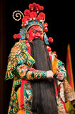 China opera man red face Royalty Free Stock Images