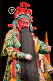 China opera man red face Stock Photo
