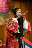 China opera Scholar Roared Stock Image