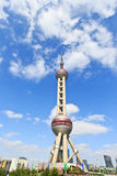 China. the Oriental pearl TV tower is a famous landmark in Shanghai. Royalty Free Stock Photography