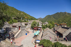 China. Outpost Juyongguan - part of the fortifications of the Great Wall of China Royalty Free Stock Photography