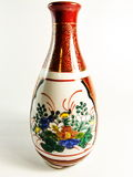 China painted ceramic vase Royalty Free Stock Photo