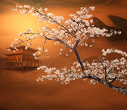 China painting style landscape Royalty Free Stock Photos