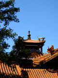 Chinese traditional Building - Forbidden City, the Palace Museum royalty free stock image
