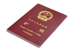 China passport royalty free stock photography