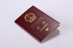 China passport Stock Photos