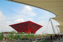 China Pavilion 2010 WORLD EXPO Royalty Free Stock Photos