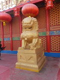 China pavilion at Global Village in Dubai, UAE Stock Photos