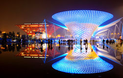 The China Pavilion at World Expo in Shanghai Royalty Free Stock Images