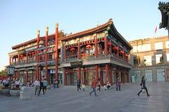 China Pekín Edificio en la calle de Qianmen Fotos de archivo
