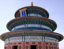 China, Pekín: El Templo del Cielo Pasillo del rezo para la cosecha imagenes de archivo