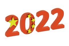 China Pekin 2022 Royalty Free Stock Photography