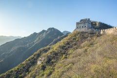 China, Pekin, China wall, sunset, history. 2016 Stock Photography