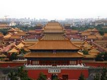 China, Peking, Verboden Stad Royalty-vrije Stock Afbeelding