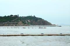 China Penglai island royalty free stock image