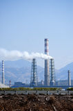 China Petroleum and Chemical Plant Stock Image