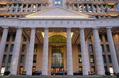 China Ping An Finance Building en el distrito de Pudong, Shangai Fotos de archivo libres de regalías
