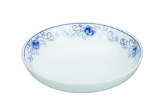 China plate Royalty Free Stock Photos