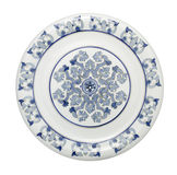China Platter. Made in Portugal. Has at its center the monogram of the name of Jesus Christ, IHS Stock Photography