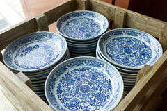 China Porcelain. Porcelain wares styled from the Ming Dynasty Stock Images