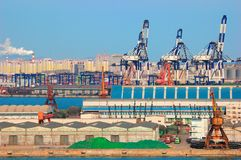 China Port Royalty Free Stock Photo