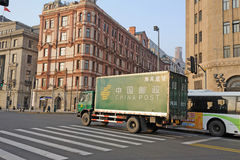China post truck Royalty Free Stock Images
