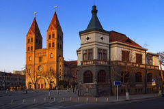 China Qingdao City Church. A chinese church in QINGDAO city.it was builted at 1860s Royalty Free Stock Image