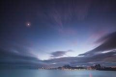 China Qingdao city overlooks the Strait Royalty Free Stock Photos