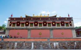 China Qinghai Xining Tar Temple scenery. On travel stock photos