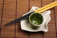 China que cena la placa Imagenes de archivo
