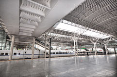 China Railway High-speed station Stock Photo