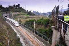 China Railway High Speed Train Stock Image