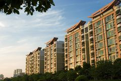 China real estate. Real estate in guangzhou of china Stock Photography