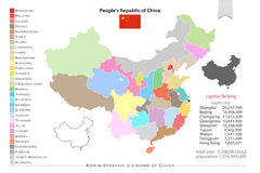 China-Regionen Lizenzfreie Stockfotografie