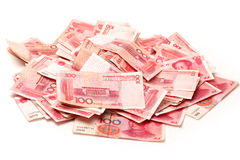China renminbi Royalty Free Stock Photo