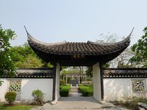 China roof Stock Images