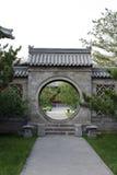 China round door entrace Stock Photos