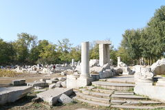 China : Ruins of the Yuanmingyuan Royalty Free Stock Image
