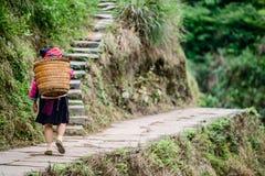 China rural fotografía de archivo