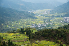 China rural field landscape Royalty Free Stock Image