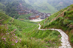 china rural landscape Royalty Free Stock Photos